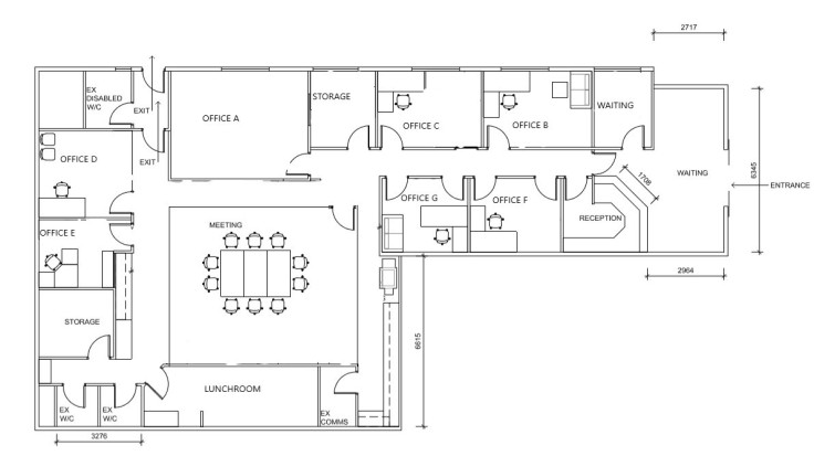 Layout of practice